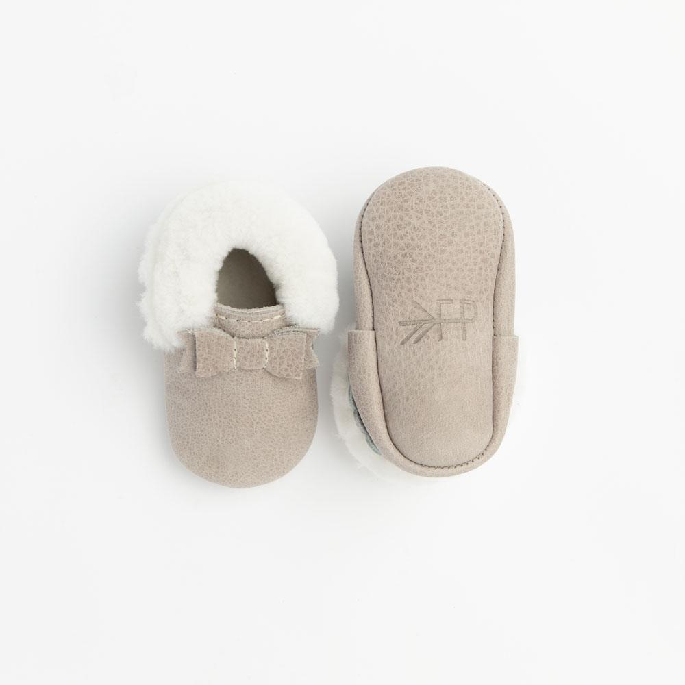 Salt Flats Shearling Bow Mocc Shearling Bow Mocc Soft Soles