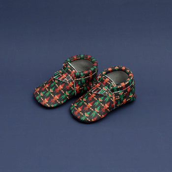 Santa's Helper City Mocc City Moccs Soft Soles