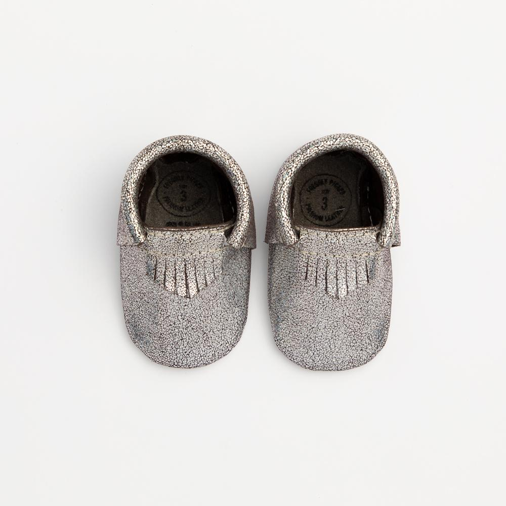 Silver Alloy City Mocc City Moccs soft sole