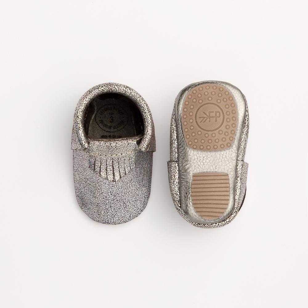 Silver Alloy City Mocc Mini Sole