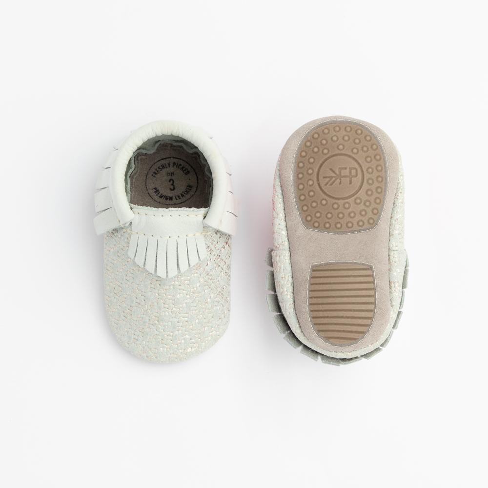 Silver Tweed Mini Sole