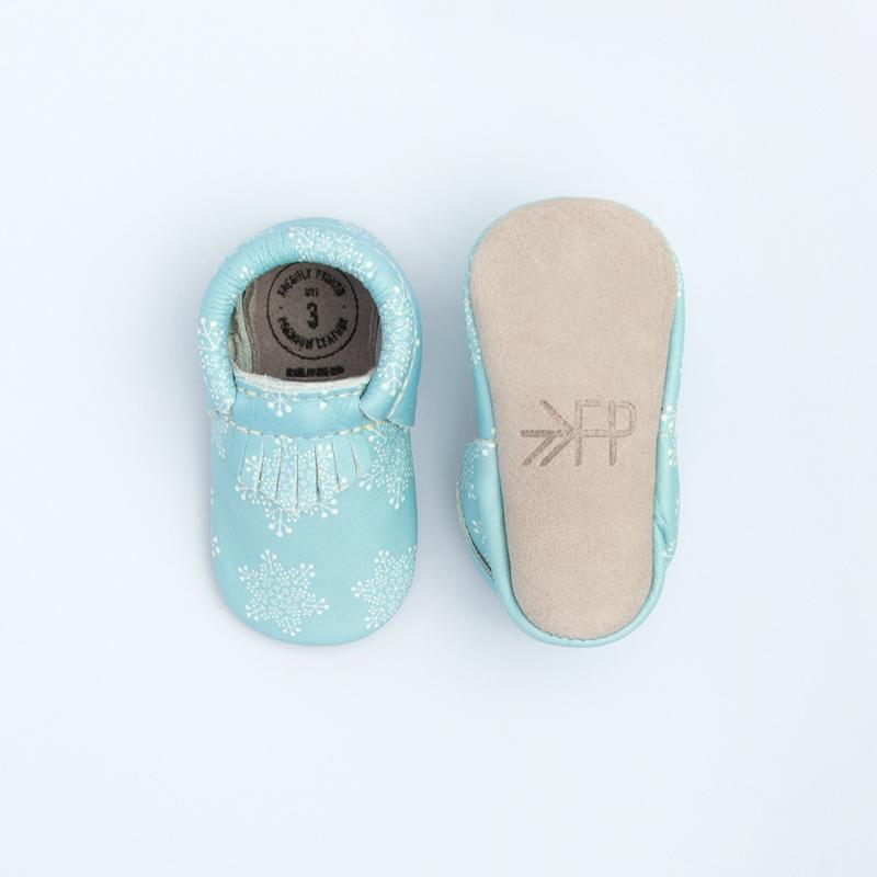 Snow Flakes City Mocc City Moccs Soft Soles