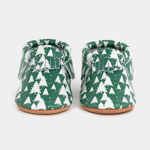Snowy Pines Moccasins Soft Soles