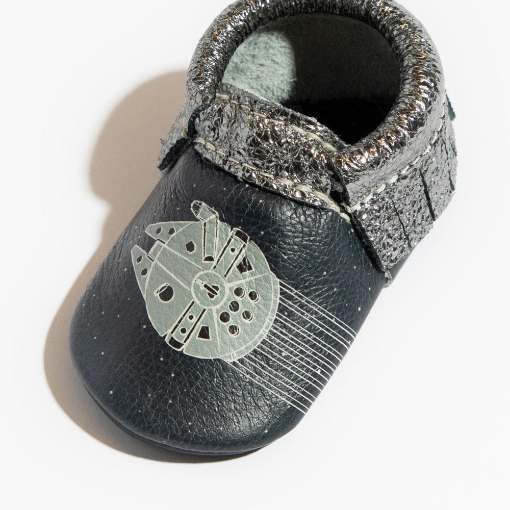 Space Chase Moccasins Soft Soles