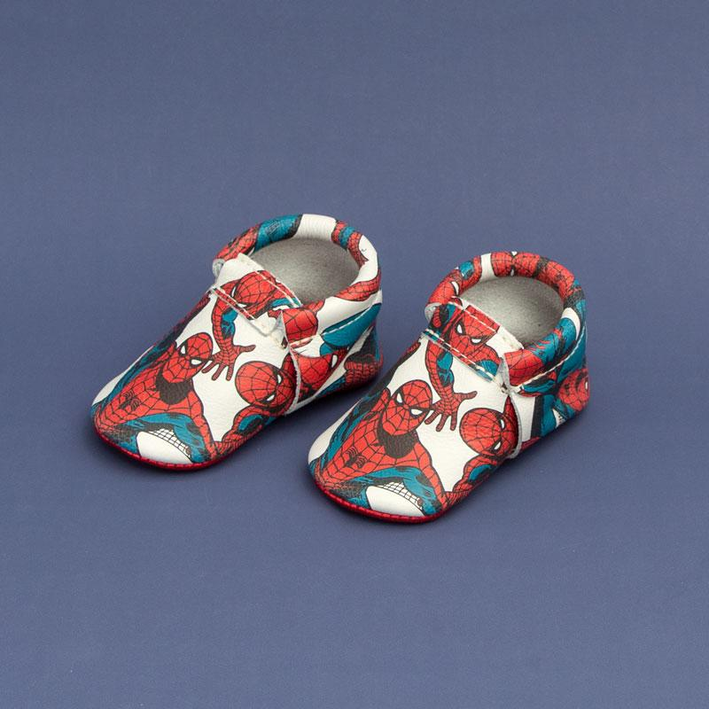 Marvel Spidey Sense City Moccs Soft Soles