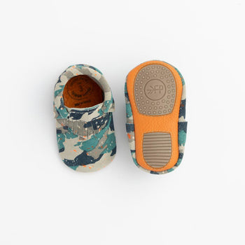 Splatter Camo City Mocc Mini Sole