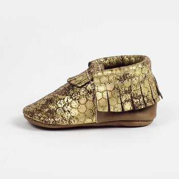 Golden Honey - FP x Stance Moccasins Soft Soles