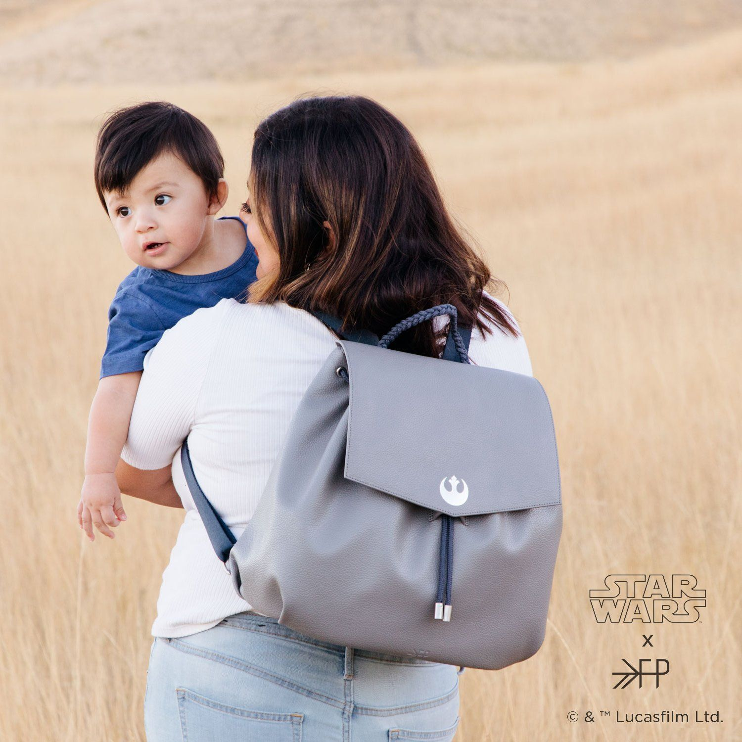 Light Side Drawcord Diaper Pack Drawcord Diaper Pack Diaper Bag
