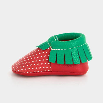 Strawberry | Pre-Order Moccasins Soft Soles
