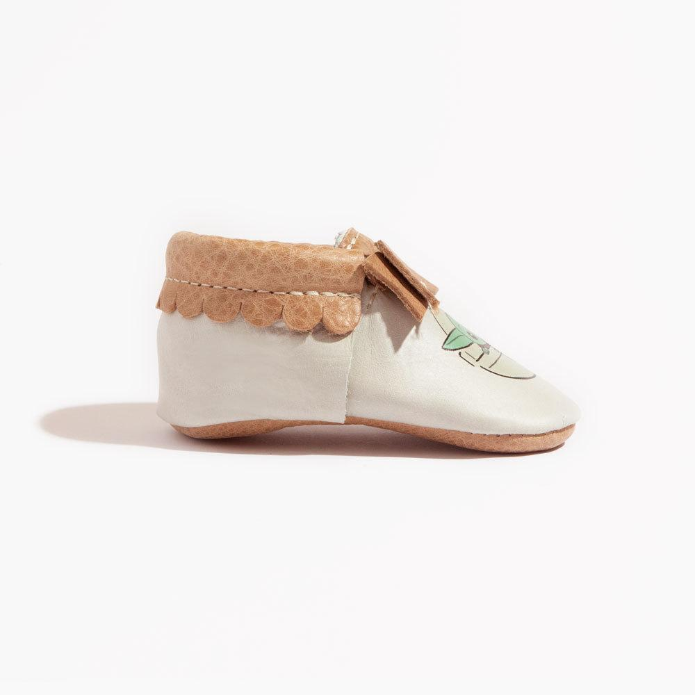 The Child Bow Mocc Mini Sole Bow Moccasins mini sole