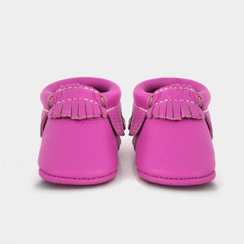 Tickle Me Pink Moccasins Soft Soles
