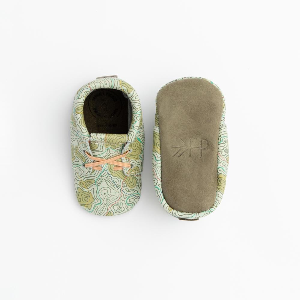 Topo Map Oxford Oxford soft sole