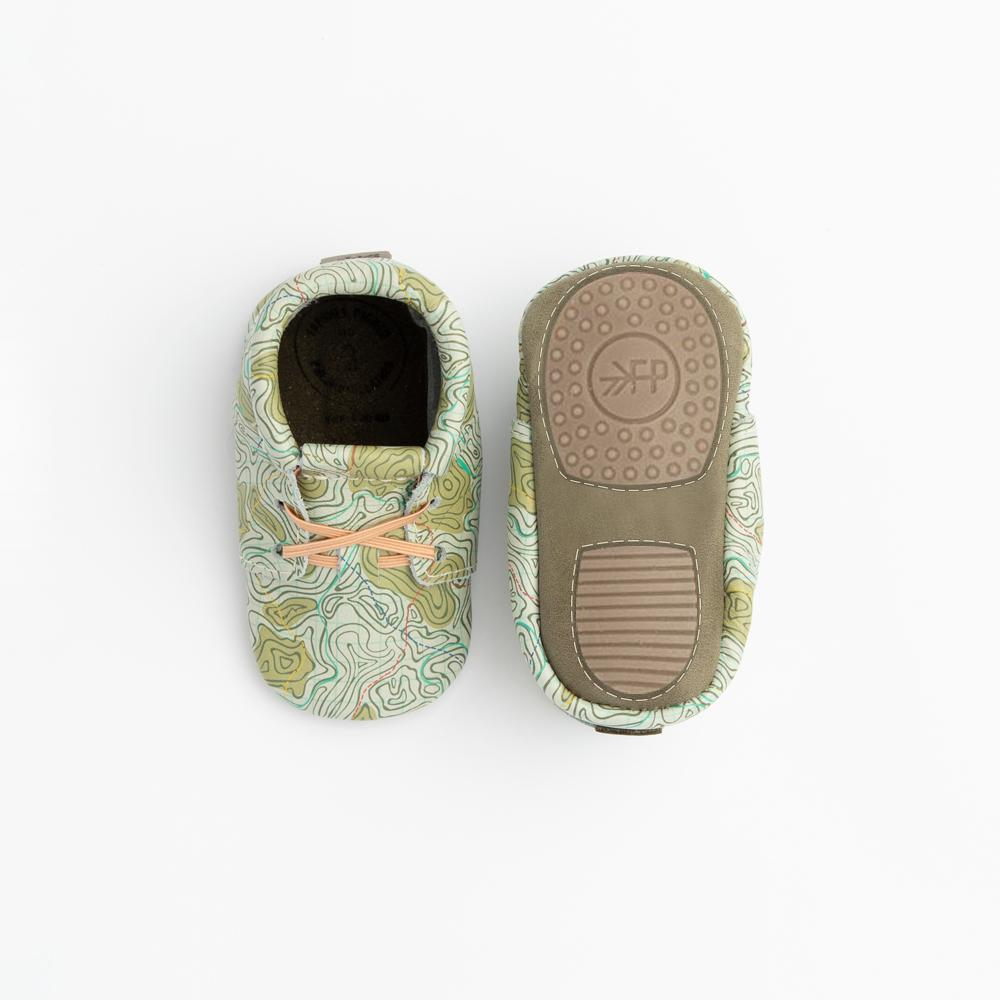 Topo Map Oxford Mini Sole Mini Sole Oxford mini soles