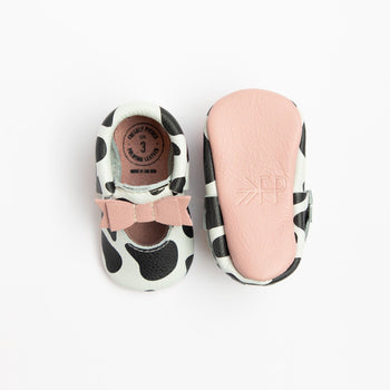 Udderly Adorable Ballet Flat Bow Mocc