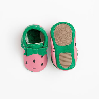 Watermelon Bow Mocc Mini Sole | Pre-Order