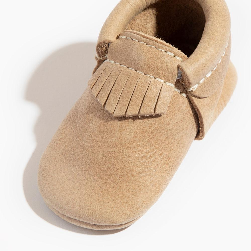 Weathered Brown City Mocc City Moccs Soft Soles