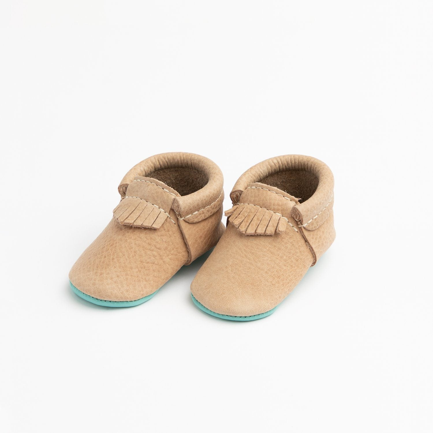 Weathered Brown with Robin's Egg City Mocc City Moccs Soft Soles