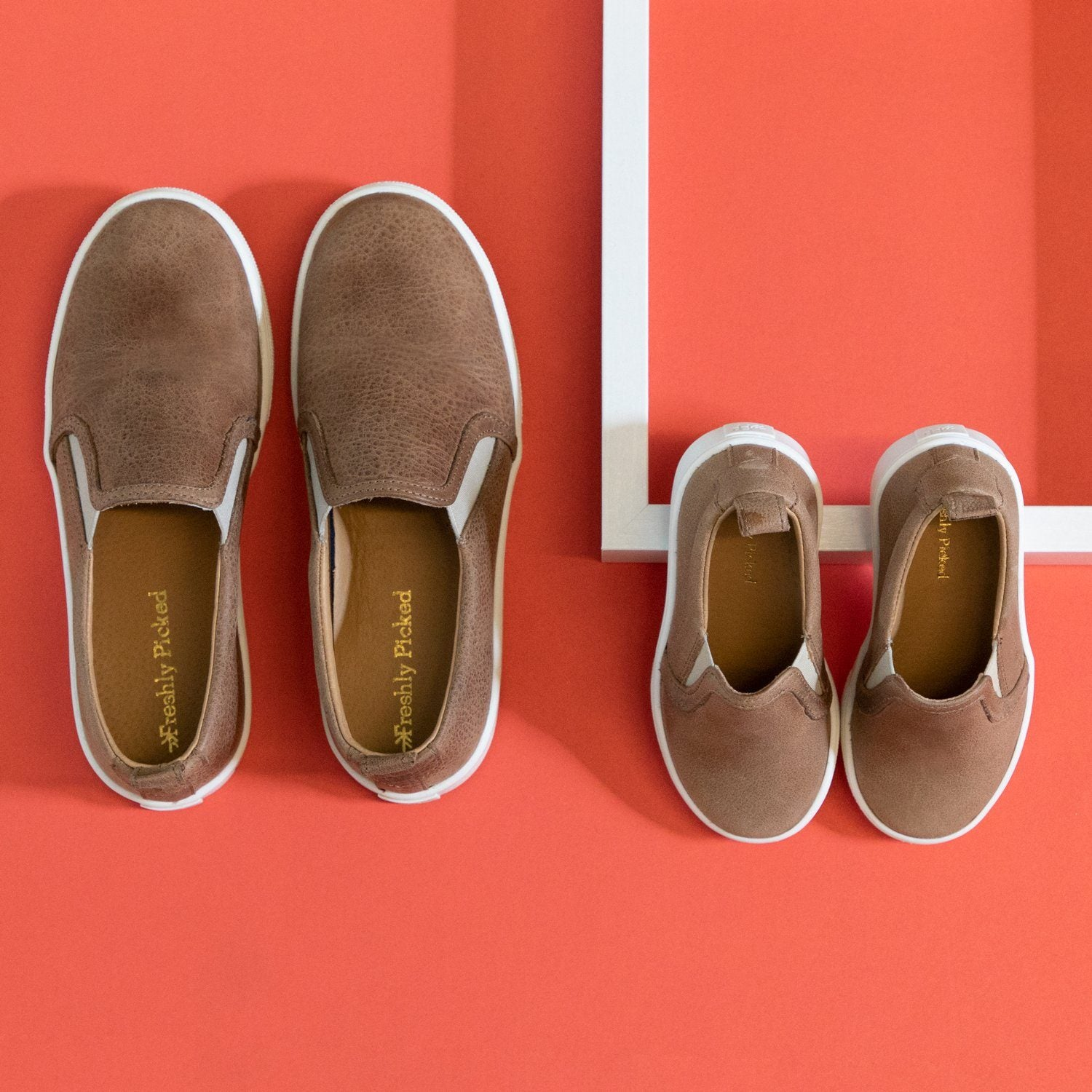 Weathered Brown Slip-On Sneaker (Youth)