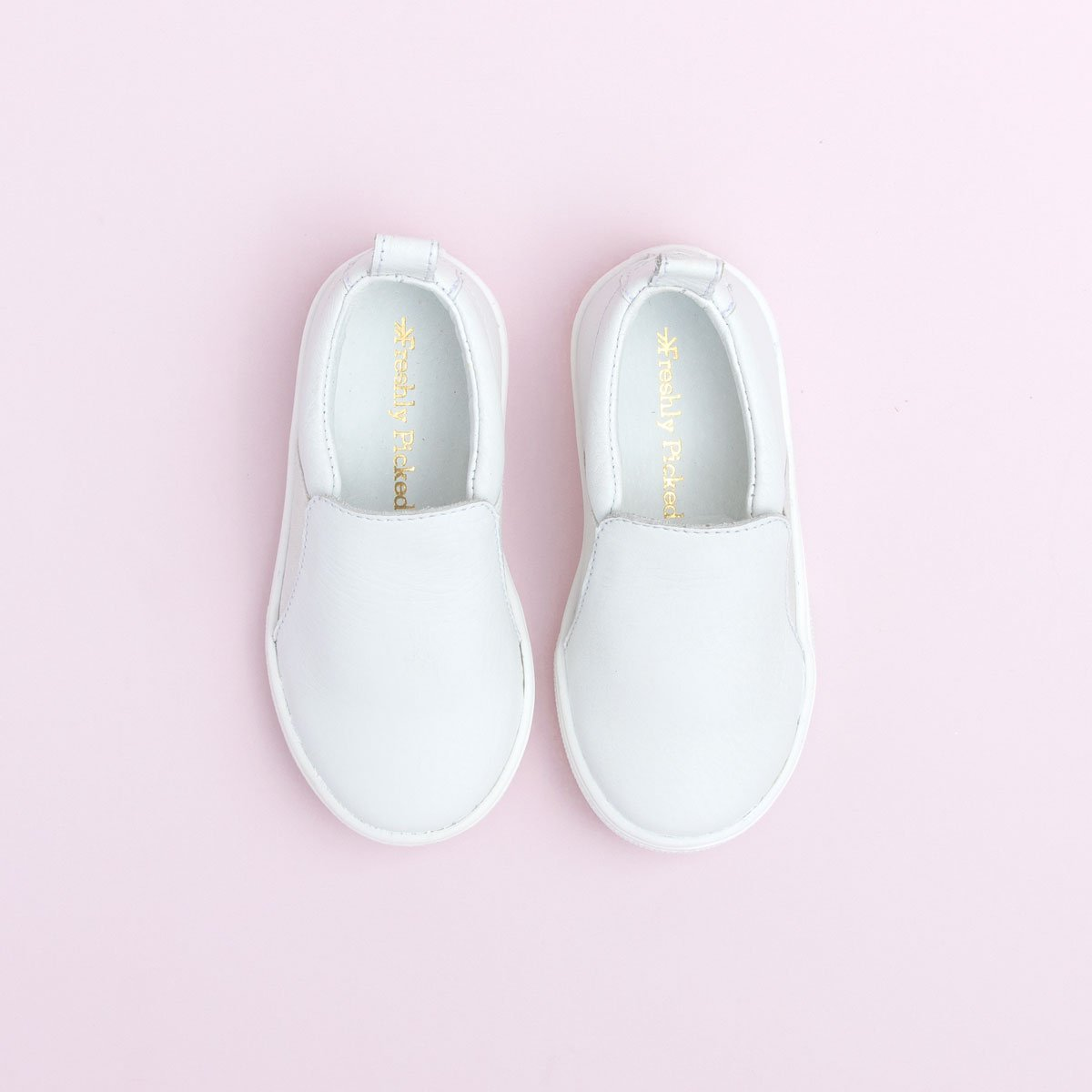 White Slip-On Sneaker Kids - Slip-On Sneaker Kids Sneakers