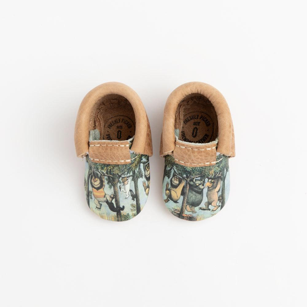 Newborn Wild Rumpus City Mocc newborn city mocc Soft Soles