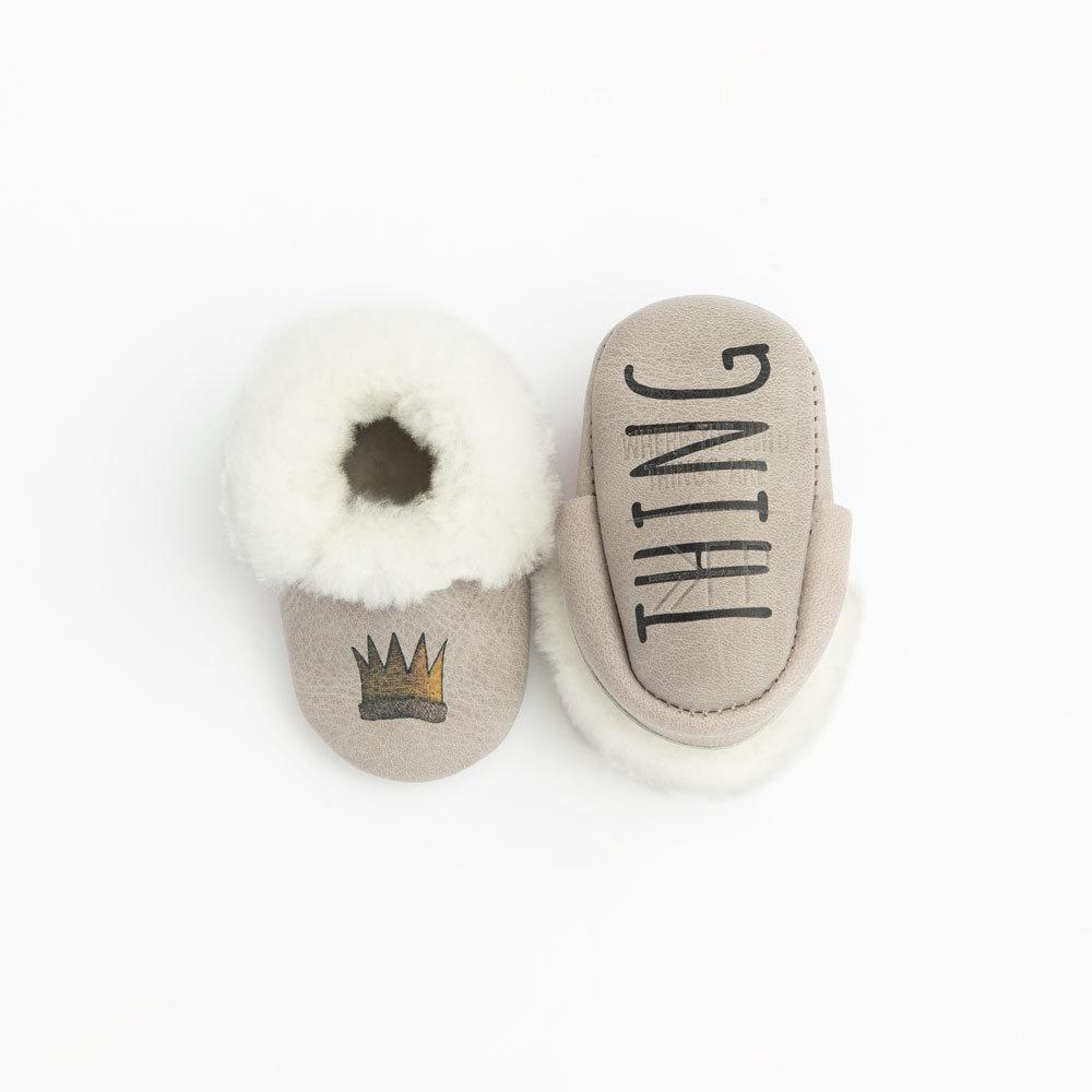 Newborn Wild Thing Shearling Mocc Newborn Shearling mocc Soft Soles