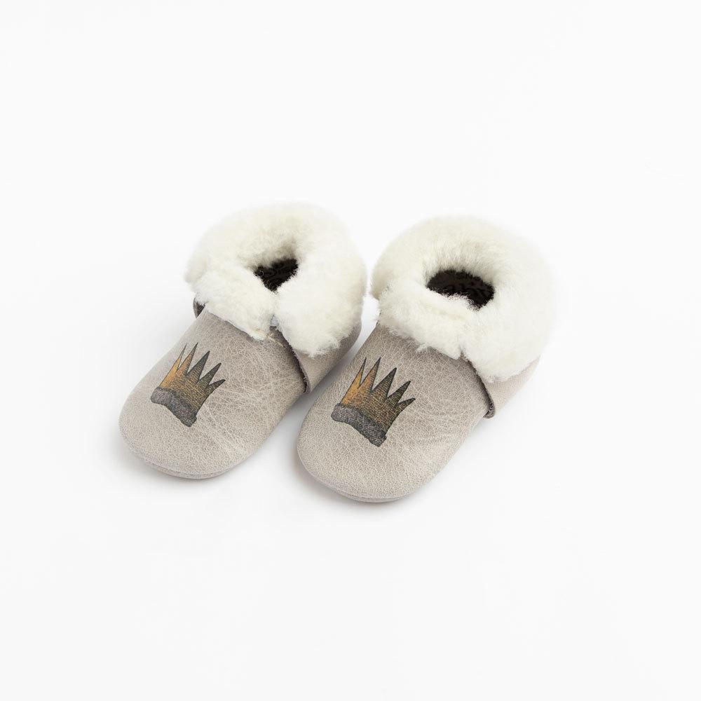 Wild Thing Shearling Mocc Mini Sole Mini Sole Shearling Mocc mini soles