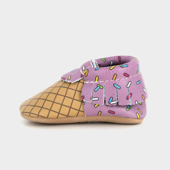 With Sprinkles on Top Moccasins Soft Soles