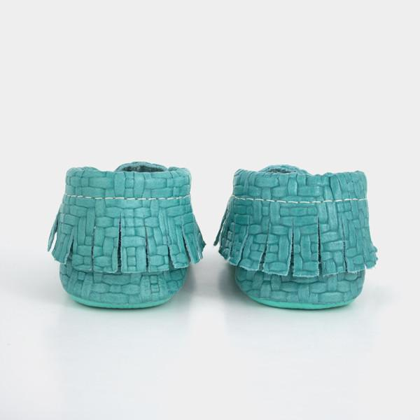 Woven Teal