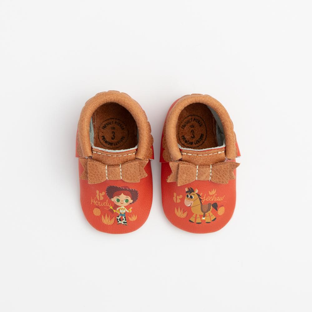 Yeehaw Jessie Bow Mocc Mini Sole Mini Sole Bow Moccasin mini soles