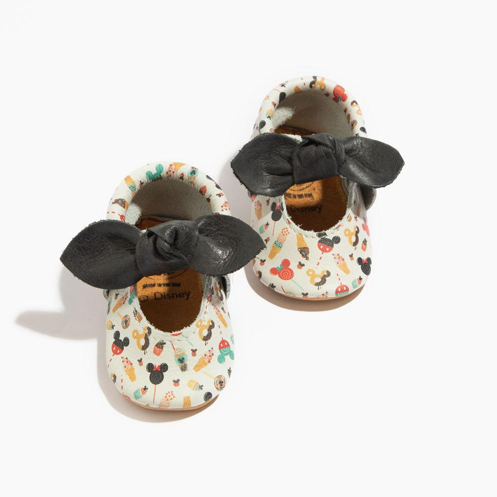 Yep, Yup, Yum Mickey Knotted Bow Mocc Mini Sole knotted bow mocc Mini Sole