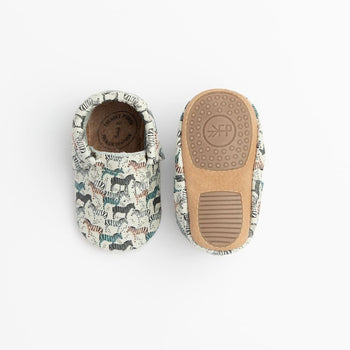 Zebra Safari City Mocc Mini Sole Mini Sole City Mocc mini soles
