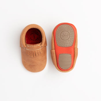 Zion with Persimmon City Mocc Mini Sole