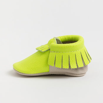 Electric Palm Moccasins Soft Soles