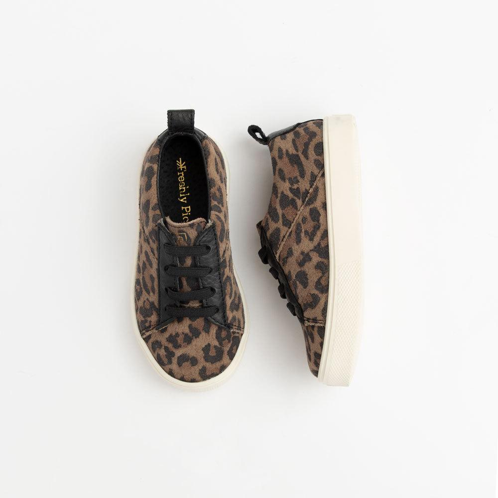 Leopard Lace-up Kids - Classic Sneaker Kids Sneakers