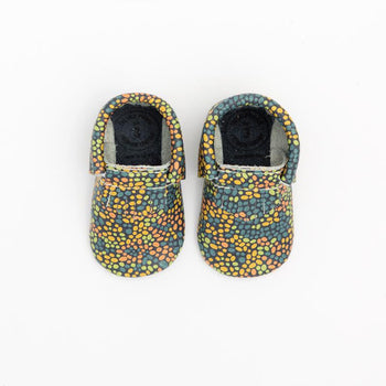 Painted Dots City Mocc Mini Sole