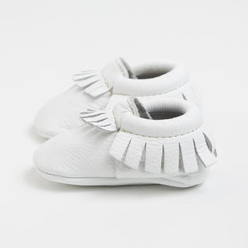 Ivory Moccasins Soft Soles