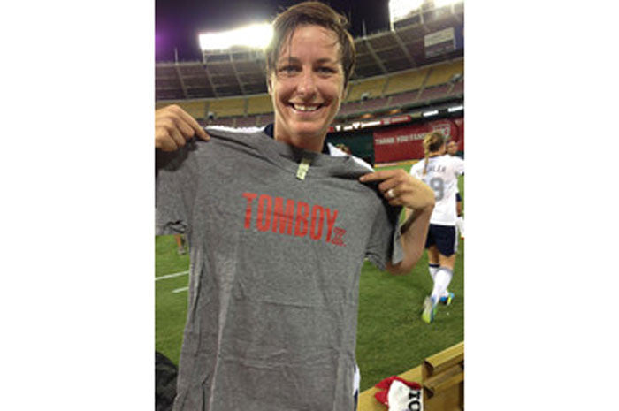 Abby Wambach meets TomboyX!