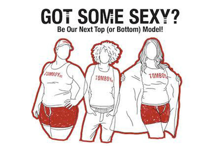 Be Our Next Top (or Bottom) Model!