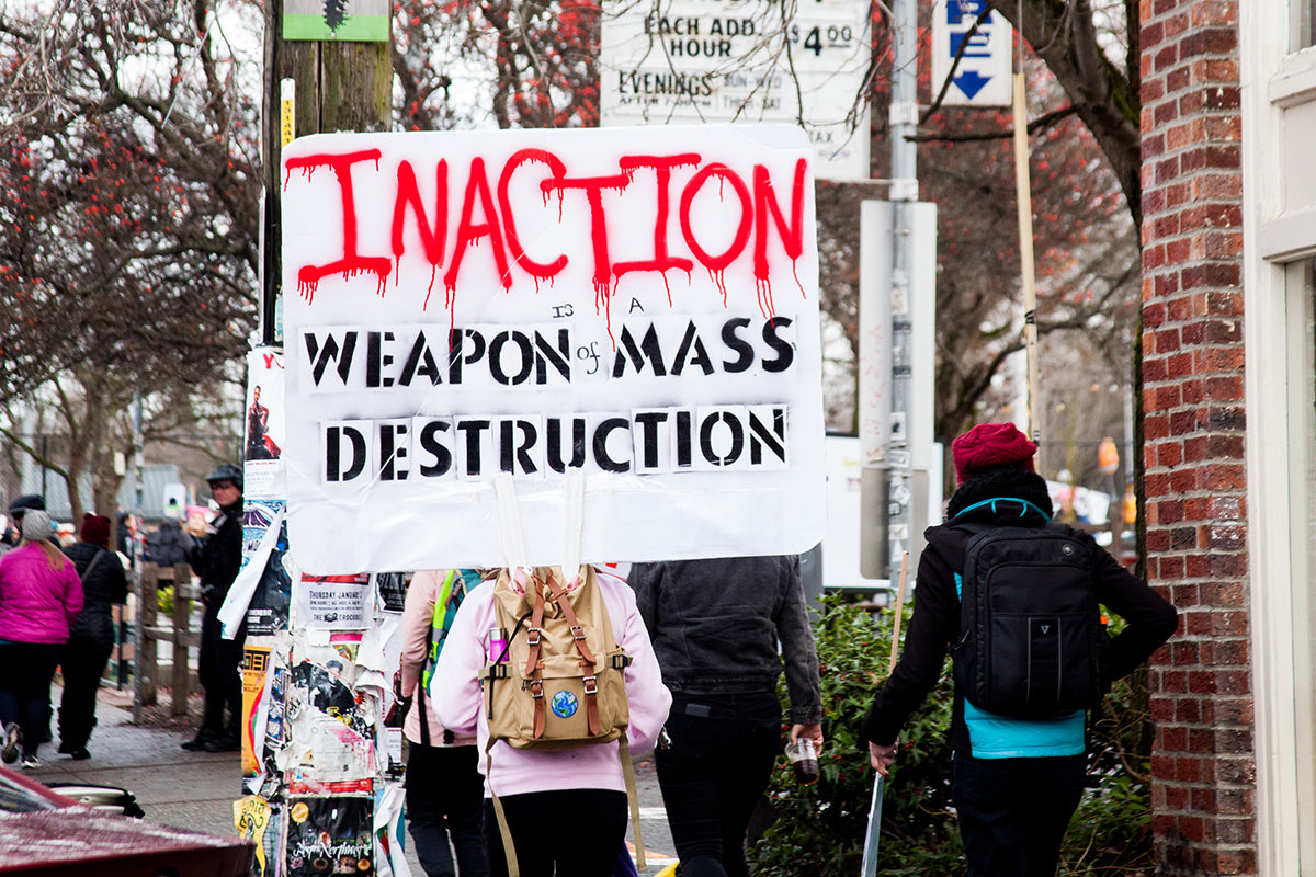 Inaction: Weapon of Mass Destruction