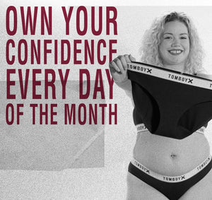 Own your confidence every day of the month