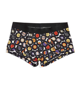 Exclusive: Boy Shorts - Record Breakers Print-Underwear-TomboyX