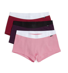 Exclusive: 3 Pack Boy Shorts - Treat Yourself-3 Pack-TomboyX