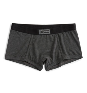 Boy Shorts - MicroModal Charcoal-Underwear-TomboyX