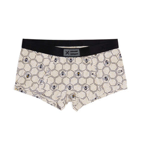 Exclusive: Boy Shorts - MicroModal Save the Bees-Underwear-TomboyX