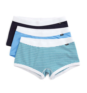 3 Pack Boy Shorts - Blue Wave-3 Pack-TomboyX