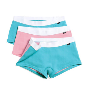 3 Pack Boy Shorts - Trans Pride-3 Pack-TomboyX