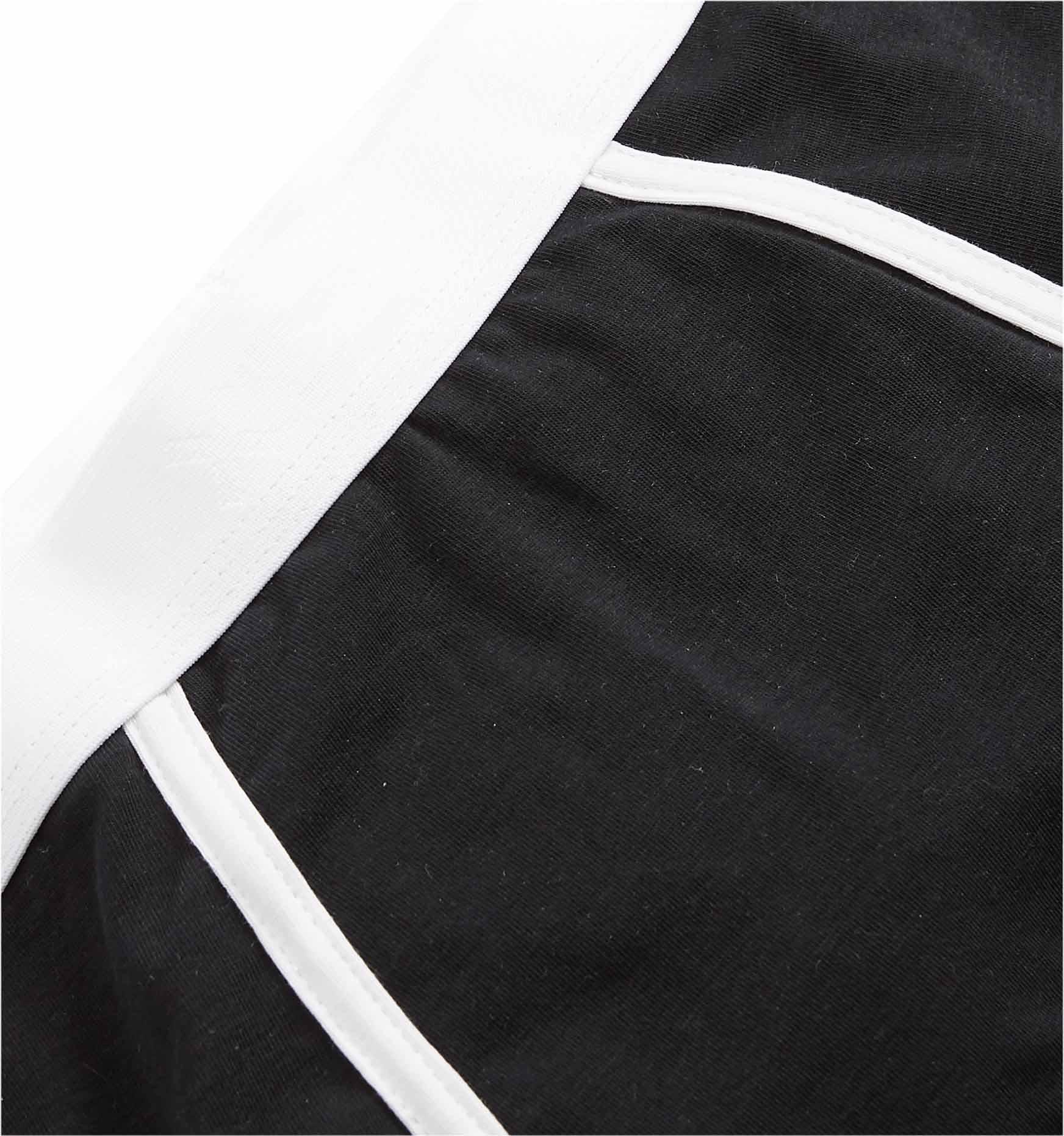 b6d0fb488 Boy Shorts - Active Drirelease® Black With White Trim – TomboyX