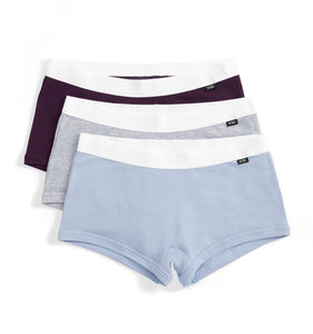 3 Pack Boy Shorts - Curfew-3 Pack-TomboyX