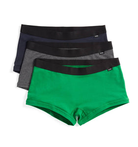 Exclusive: 3 Pack Boy Shorts - Better Days-Underwear-TomboyX