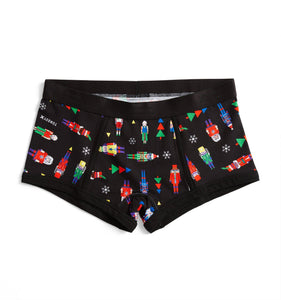 Boy Shorts - Nutcracker Print-Underwear-TomboyX